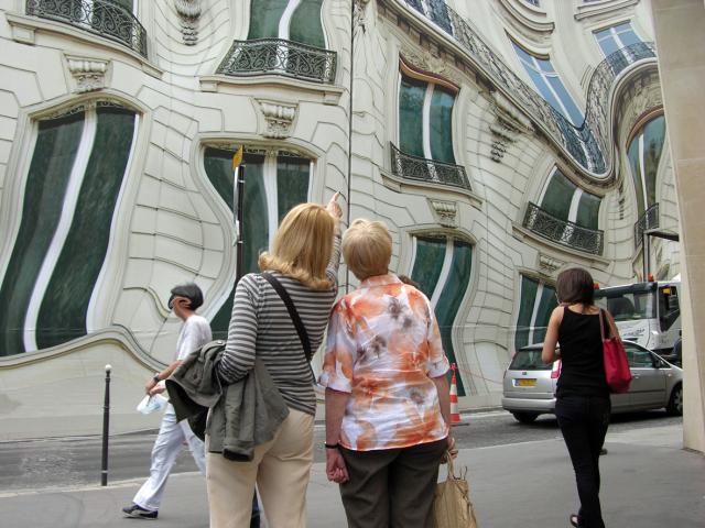 trompe-l'oeil a Paris - Palgret